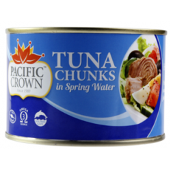 Pacific Crown Tuna Chunk in Spring Water 425g