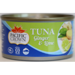 Pacific Crown Ginger & Lime Tuna 95g