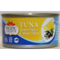 Pacific Crown Lemon Pepper & Black Olives Tuna 95g