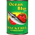 Ocean Blue Mackerel in Tomato Sauce 425g