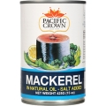 Pacific Crown Mackerel In Oil 425g