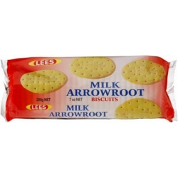 Lees Milk Arrowroot 200g