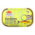 Sardines In Vegetable Oil 125g