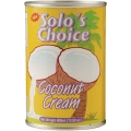 Solo's Choice Coconut Cream 400ml