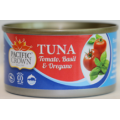 Pacific Crown Tomato Basil & Oregano Tuna 185g