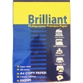 Brilliant Photocopy Paper A4 White 80gsm